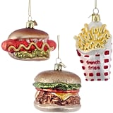 Fast Food Ornament Set