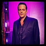 Vince Vaughn stopped by the Tonight show. Source: Instagram user tonightshow
