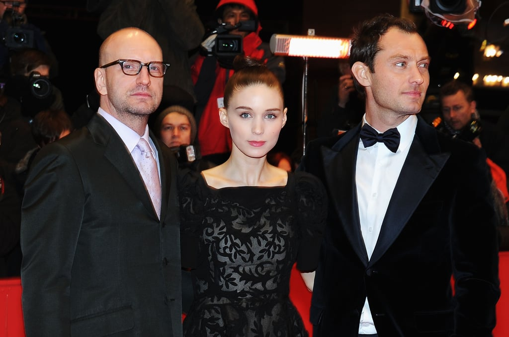 Jude Law and Rooney Mara Make a Red-Carpet Stop For Side Effects