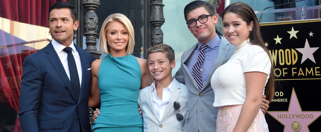 Kelly Ripa Accidentally Let Her 13-Year-Old Son Bring a Book About a Stripper Pole to School