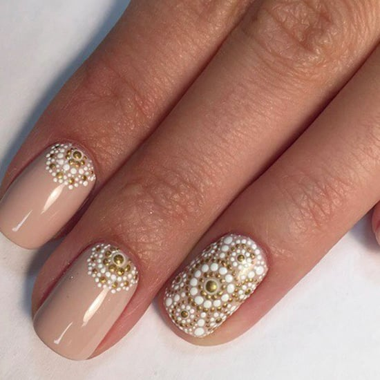 Intricate Dotticure Nail Art Designs
