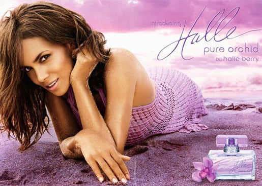 Halle Berry Pure Orchid Photos