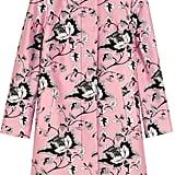 Diane von Furstenberg Amana printed wool and silk-blend coat ($798)