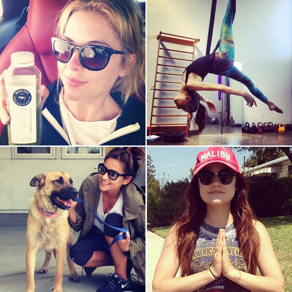 Pretty Little Liars Stars Fitness Routine