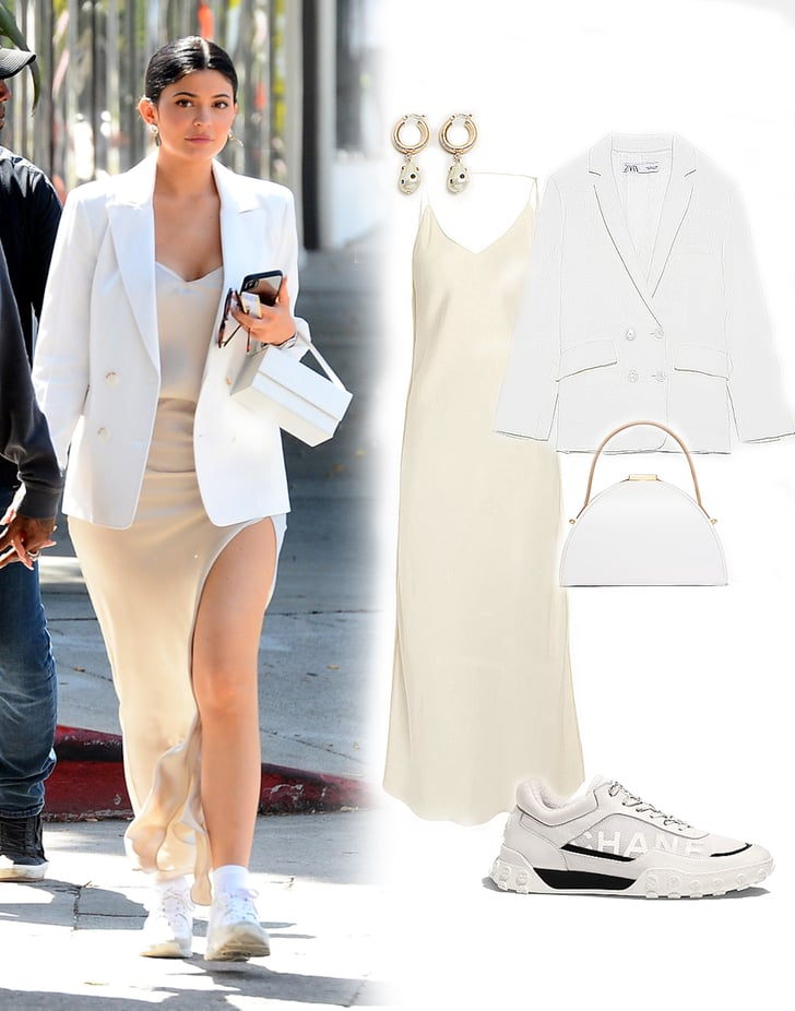 kylie jenner white sneakers 2019