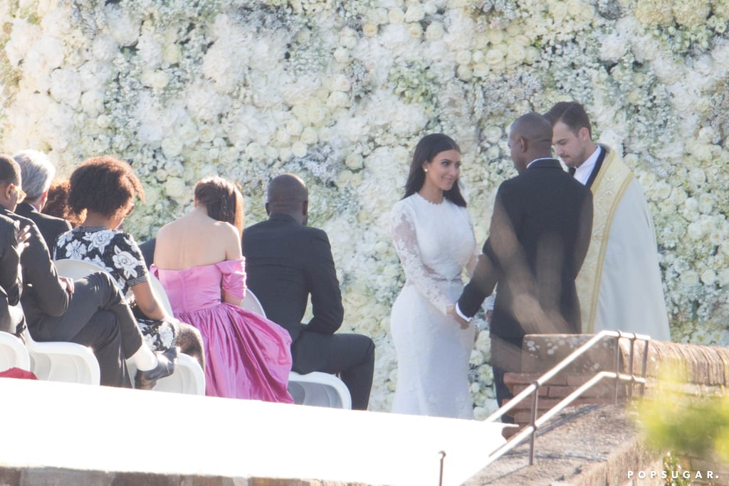 Image result for Kim Kardashian / Kanye Wedding Photos