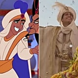 Mena Massoud as the Prince Ali version of Aladdin