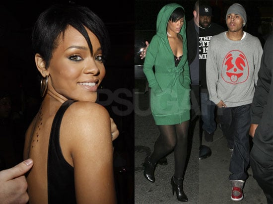 Rihanna's Got Chris There to Hold Her Hand