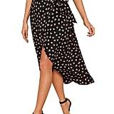 Verdusa Waist-Knot Wrap Skirt