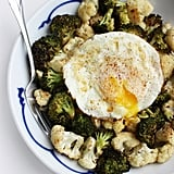Roasted Veggies With Fried Egg