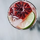 Blood Orange Champagne Margarita