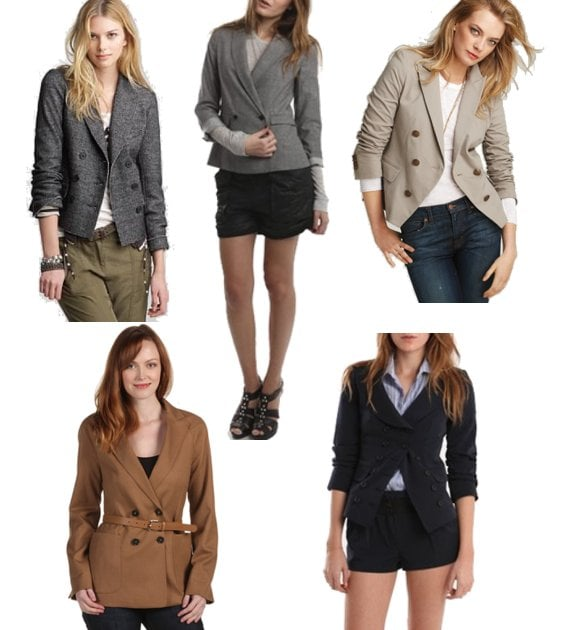 Double-Breasted Blazers For Fall
