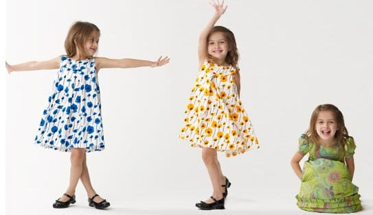 Oscar de la Renta Dresses Lil Darlings!