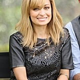 Nicole Richie attended NBCUniversal's press day at The Langham Huntington Hotel.