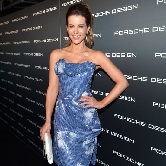 Kate Beckinsale and Len Wiseman at Porsche Party   Pictures