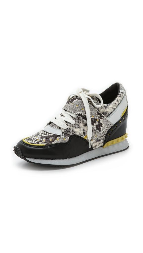 Ash Detox Wedge Sneakers