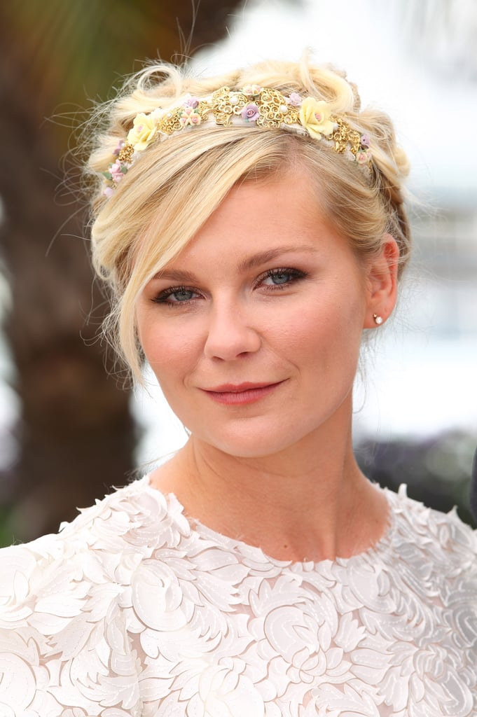 Kirsten Dunst Modern Updos Buns And Chignons Celebrity Hair