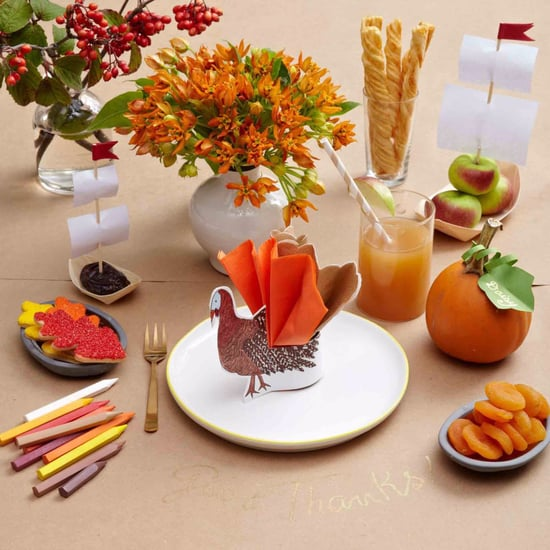 Ideas For Kids' Thanksgiving Table