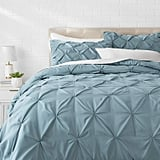 Amazon Basics Pinch Pleat Comforter Bedding Set