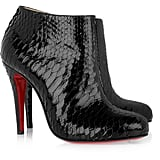 Christian Louboutin Belle Python Ankle Boots ($797 on sale)