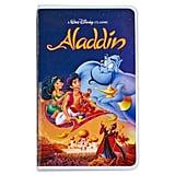Aladdin VHS Case Journal