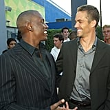 Pictured: Tyrese and Paul Walker