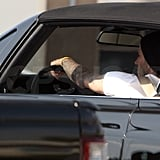 David Looks Hot Behind the Wheel as His Pepsi Commercial With Sofia Drops