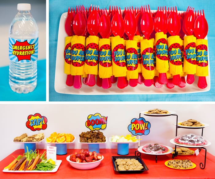A Seriously Super Superhero Staff Appreciation Week Party