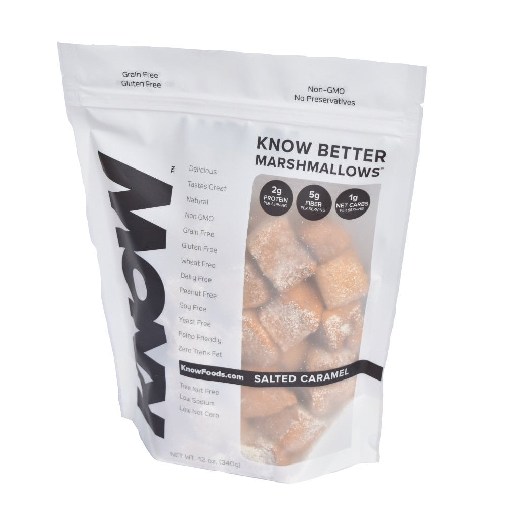 Know Foods Better Gluten-Free Marshmallow, Salted Caramel