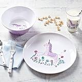 Pottery Barn Unicorn Tabletop Gift Set ($24)