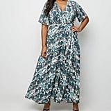 New Look Curve Snake Print Maxi Dress
