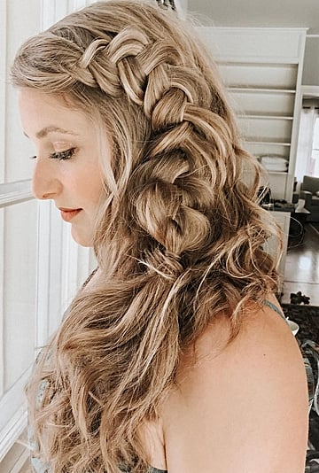 Hair Extensions to Make a Braid Look Thicker