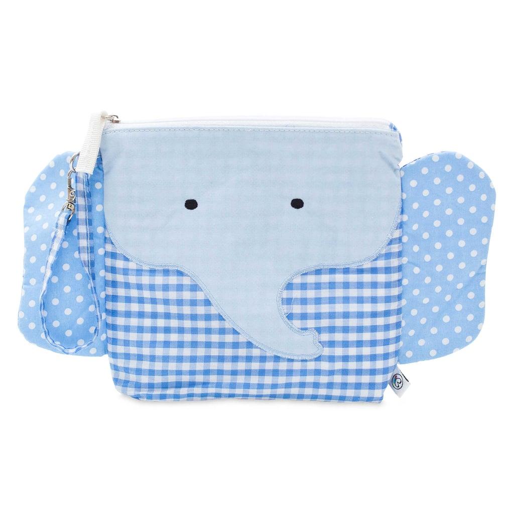 Nikiani My First Buddy Charlie Blue Elephant Snack Bag