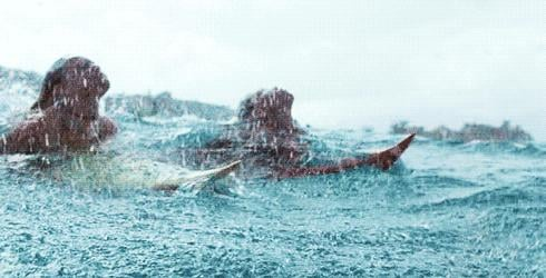 You actually thought you could emerge from the ocean like a mermaid.