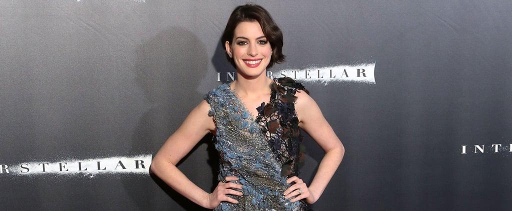 Anne Hathaway Dress at Interstellar Premiere NYC