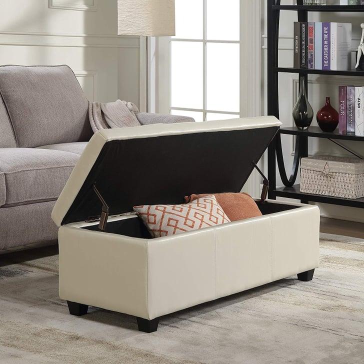 Modern Discount Bedroom Furniture: Belleze Modern Elegant Ottoman Storage Bench