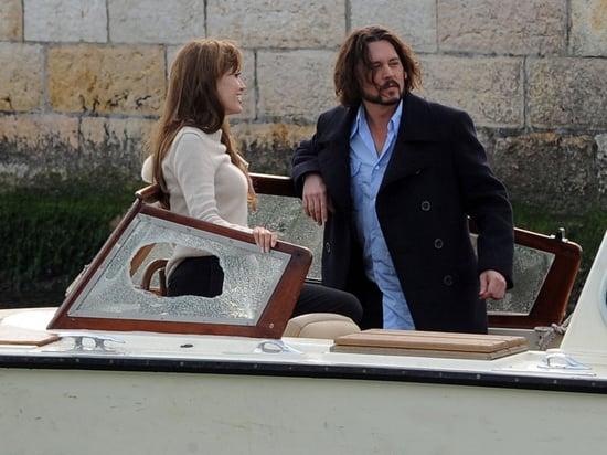 Angelina Jolie and Johnny Depp film
