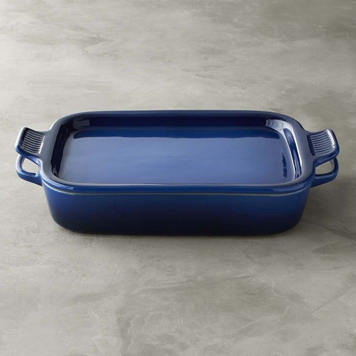 Le Creuset Stoneware Rectangular Baker With Platter Lid
