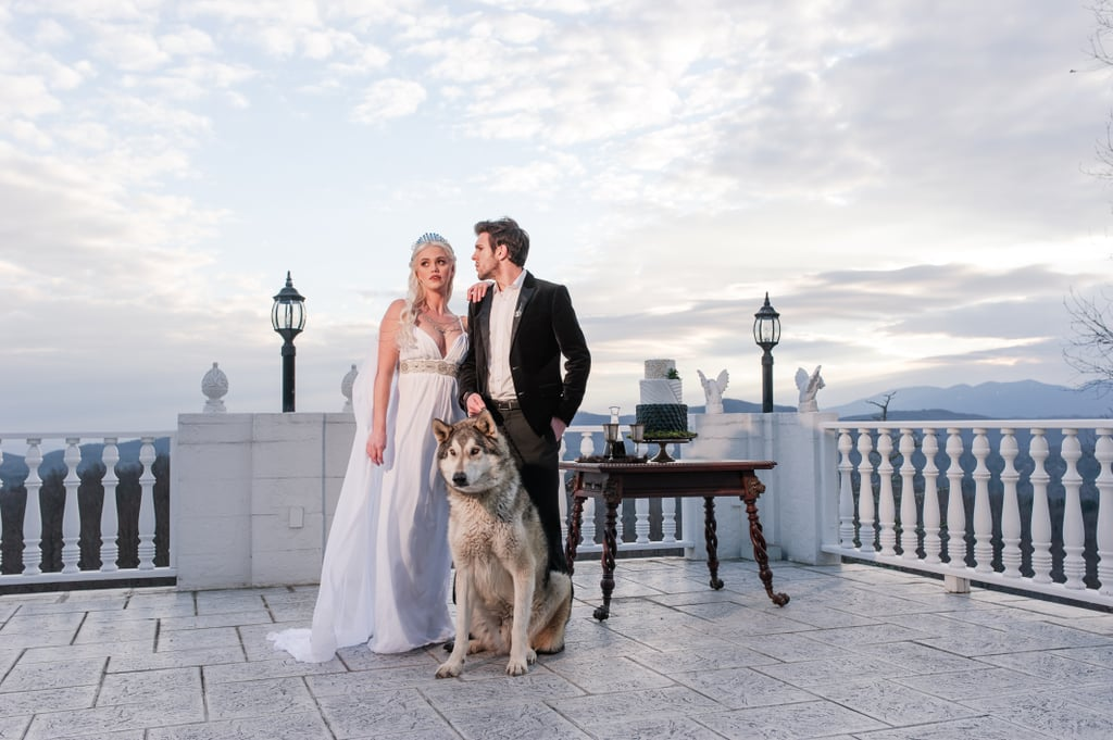 You Have to See This Amazing Game of Thrones Wedding — It Even Has a Dire Wolf!