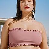 Nasty Gal Front Woman Bandeau Bikini Top