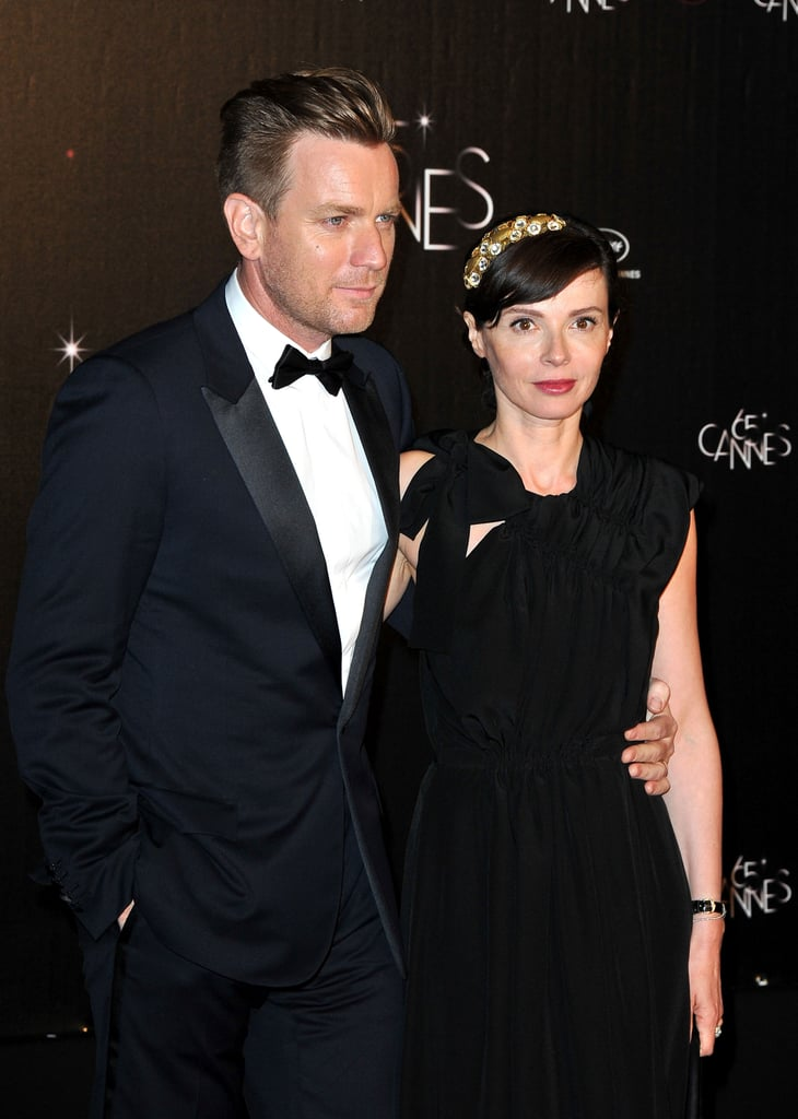 Ewan McGregor posed at the opening night dinner of the Cannes Film Festival.