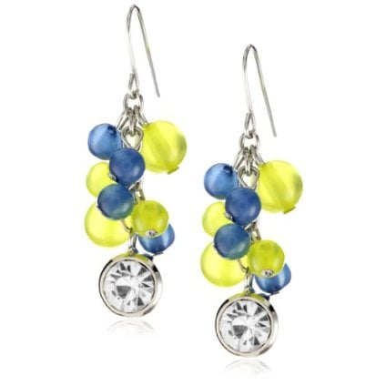 "Harajuku Lovers ""Sailor Girls"" Lucite Bead Shaky Cluster Earrings ($16)"