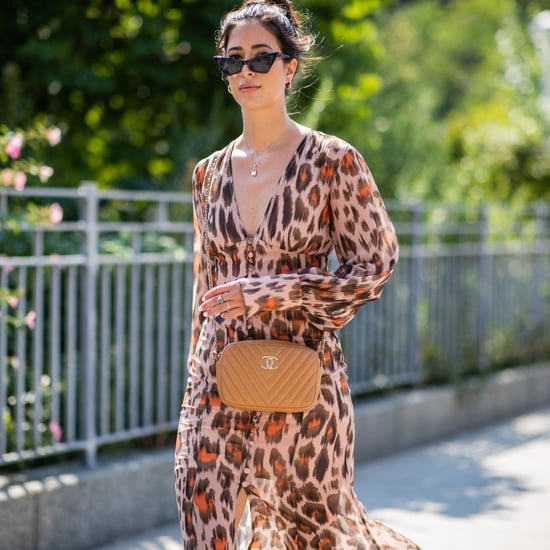 Leopard Print Dress Trend Fall 2018