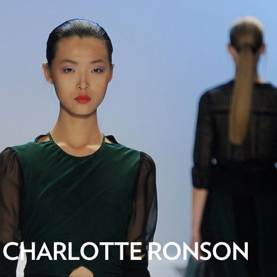 Charlotte Ronson Fall 2011 Backstage Beauty Report