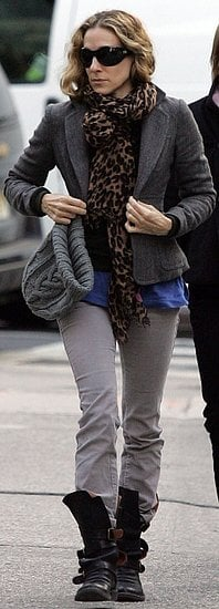 Sarah Jessica Parker Walks in New York City
