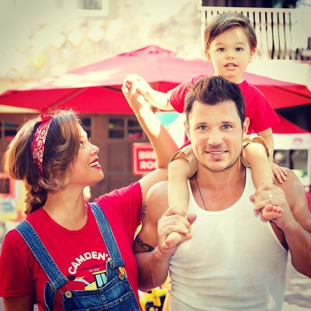 Nick and Vanessa Lachey Cute Family Pictures   POPSUGAR Celebrity ...