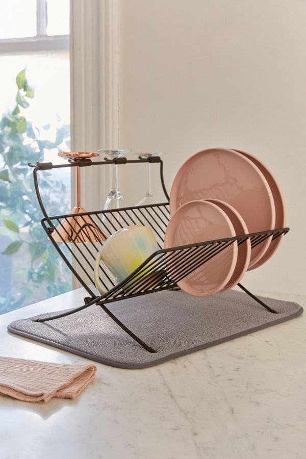 Umbra Xdry Folding Dish Rack + Mat