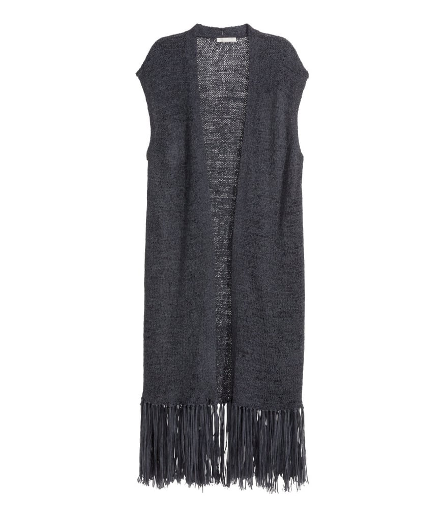 H&M Fringed Knit Vest ($35)