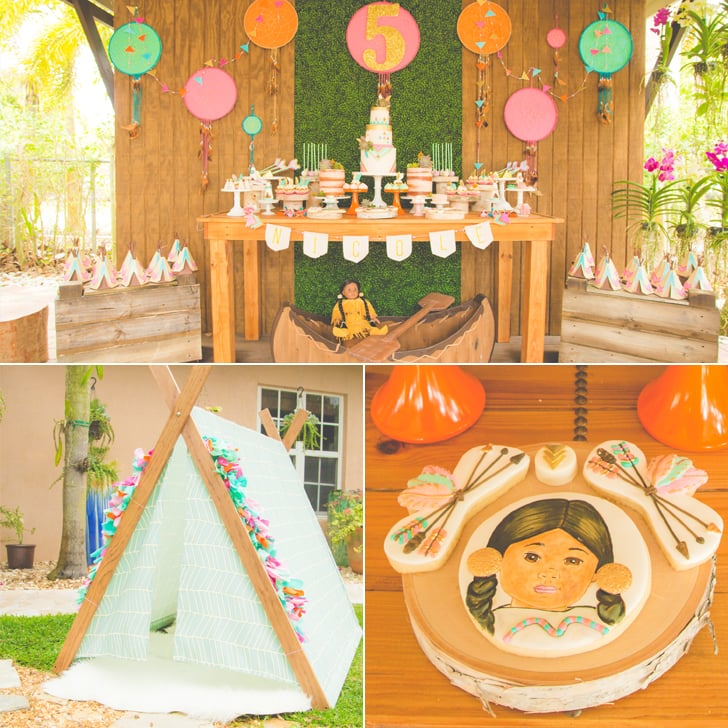 This Boho Chic American Girl Doll Birthday Party Is Every Dream Come True