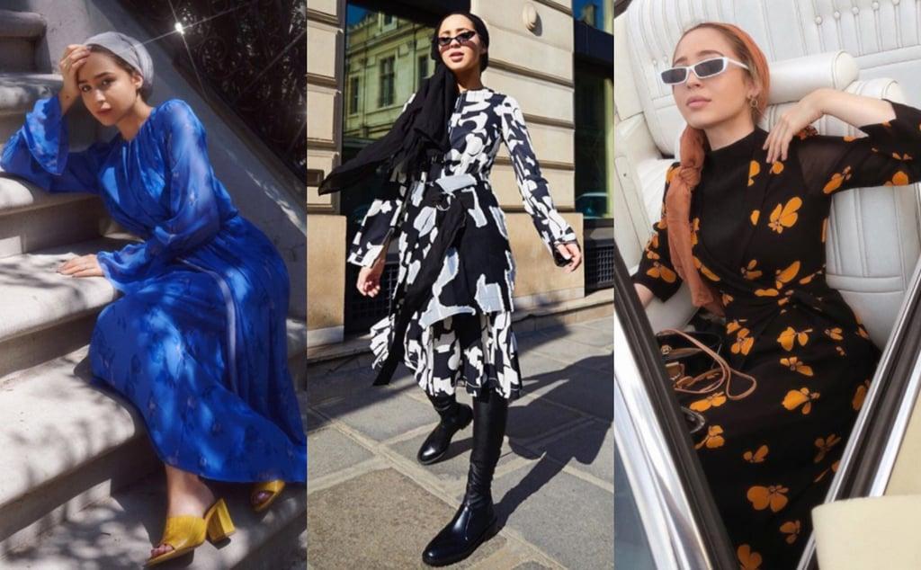أروع إطلالة أزياء محتشمة لماريا الصادق